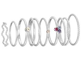Ring-Set - SIlver Variation