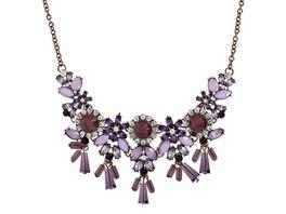 Kette - Glitter Violet