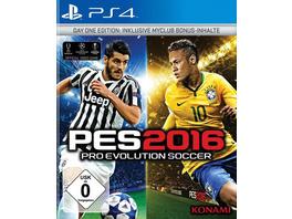 Konami Pro Evolution Soccer 2016 Day One Edition