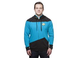 Raumschiff Enterprise – Das nächste Jahrhundert - Hoodie Blau (Größe L)
