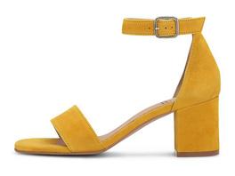 Velours-Sandalette