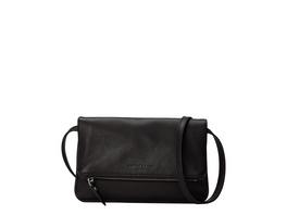 elegante Clutch in Schwarz aus Leder - Aloe S
