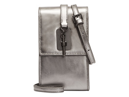 mini Tasche zum Umhängen in Metallic - Meryl Metallic Necklace Accessory