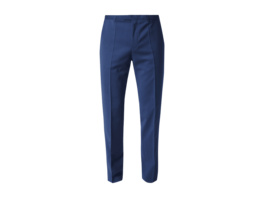 Regular Fit Business-Hose aus Schurwolle