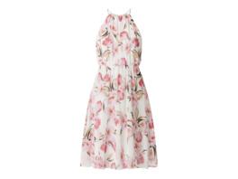 Cocktailkleid aus Chiffon mit floralem Muster