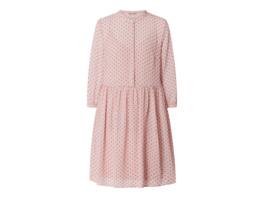 Kleid mit Herzmuster Modell 'Dobby'