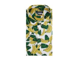 Tailored Fit Freizeithemd mit Allover-Muster