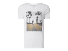 Longer Fit T-Shirt mit Foto-Print