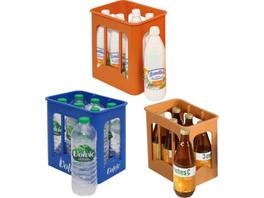Getränkekiste inkl. 6 Flaschen, sortiert
