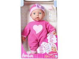 Amia Interaktiv-Puppe mit 10 Funktionen, 38 cm, ab 24 Monaten