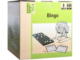 Natural Games Bingo mit Metallkorb, für 1-18 Spieler, ab 5 Jahren