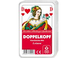 ASS Doppelkopf Leinen, französisches Bild. Kartenspiel