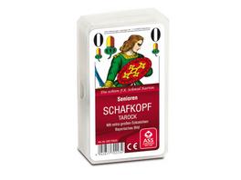ASS Senioren Schafkopf, bayerisches Bild. Kartenspiel