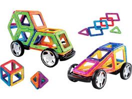 Creathek Magnet-Bauset mit Rädern, 32 Teile