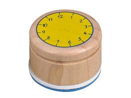Stempel Lern die Uhr Bunte Geschenke