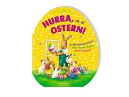 Hurra, es ist Ostern! Vorlesegeschichten von Hasen, Eiern und Hühnern
