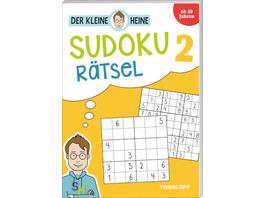 Der kleine Heine Sudoku Rätsel 2. Ab 10 Jahren