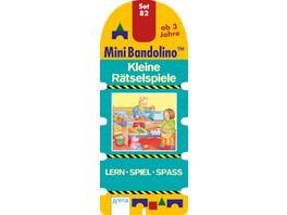 Morton, Christine: Mini Bandolino  Set 82: Kleine Rätselspiele