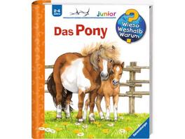 Ravensburger 32773 Wieso? Weshalb? Warum? Junior Band 20: Das Pony