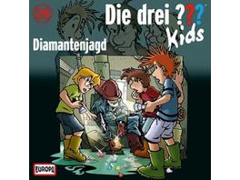 Kosmos CD Die drei ??? Kids CD 28 Diamantenjagd