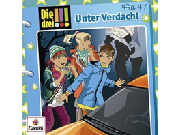 Kosmos CD Die drei !!! CD 47 Unter Verdacht