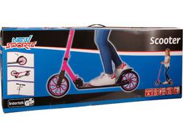 New Sports Scooter Pink/Schwarz, 200 mm, ABEC 7
