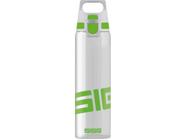SIGG TOTAL CLEAR ONE Green Trinkflasche, 0,75 Liter