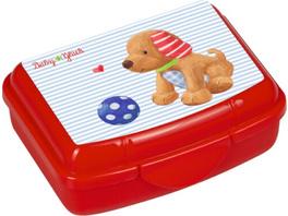 Die Spiegelburg - BabyGlück Mini-Snackbox Hündchen, ca. 9,5 x 6,5 x 3,5 cm, Bisphenol A frei