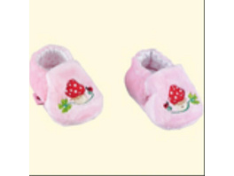 Die Spielburg - Babyschuhe BabyGlück, rosa, ca. 0-3 Monate