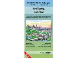 Weilburg - Lahntal 1 : 25 000, Blatt 45-559