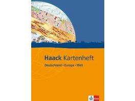 Haack Kartenheft Deutschland - Europa - Welt