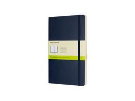 Moleskine Notizbuch L/a5, Blanko, Soft Cover, Saphir