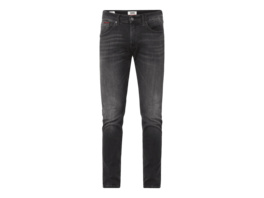 Slim Tapered Fit Jeans mit Stretch-Anteil Modell 'Steve'